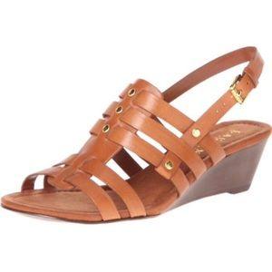 Lauren Ralph Lauren Lucetta Leather Strap Sandals